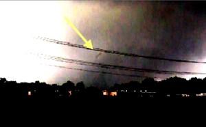 Tornado strange object still enlarged