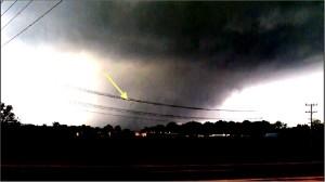Tornado strange object still