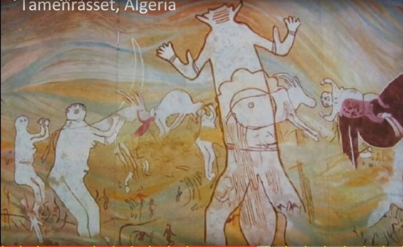 Algerian rock art